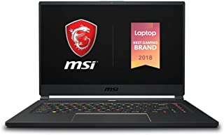 "MSI GS65 Stealth-004 15.6"" Razor Thin Bezel Gaming Laptop NVIDIA RTX 2070 8G Max-Q, 144Hz 7ms, Intel i7-8750H (6 cores), 1..."
