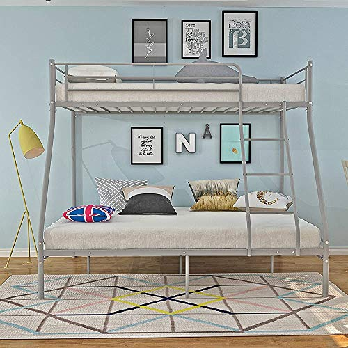 Bunk Bed Triple Sleeper Single Double bunk Bed Child Adult Bed Frame,a