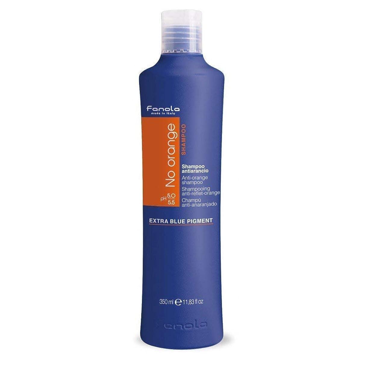 チーフ低いグラムFanola No Orange Shampoo 350 ml  青カラーシャンプー ノーオレンジ シャンプー 海外直送 [並行輸入品]