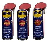 WD-40 Spray multifunción 3 x 180 ml aceite multiusos disolvente de óxido