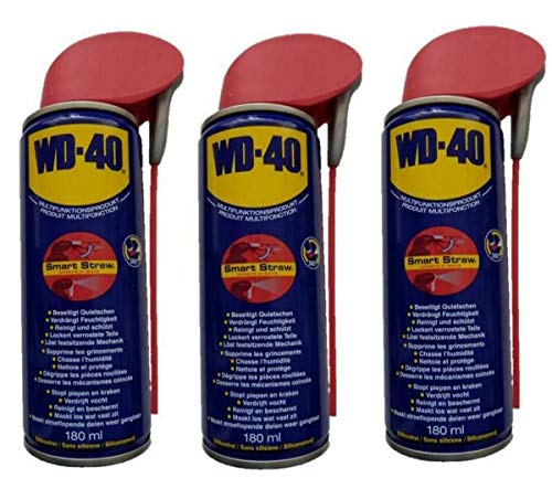 WD-40 - Spray multifunción, 3 botes de 180 ml