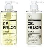 シャンプー 500ml & トリートメント 500g CE.FRLON (美容師が開発したヘアケア商品) …