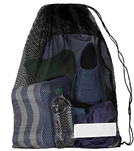 Start Smart Mesh Draw String Equipment Bag with Shoulder Strap for Swimming, Snorkeling and Scuba Diving