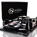 Nifeliz Sports Car 919 MOC Building Blocks and Engineering Toy, Adult Collectible Model Cars Kits To Build, 1/9.5 Race Car Model (1586 Pcs, Standard)