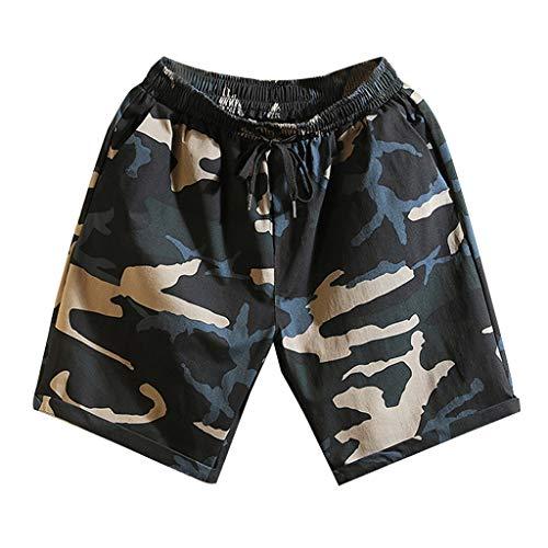 HuaMore Männer Badehose Camouflage-Druck Grafik Lässig Athletic Beach Short Pants