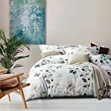 MILDLY Duvet Cover King Size, 100% Egyptian Cotton Teal...