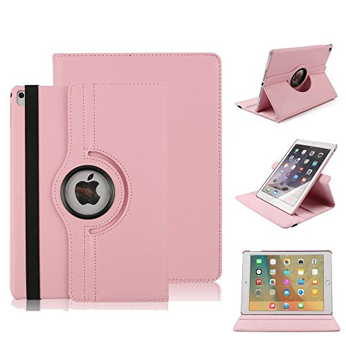 HuLorry Case Cover for iPad Air, Clear Smart Lightweight Cover Slim Sleeve 360 Degree Rotating Case Protection Rugged Protective Popular Cover for iPad Air 9.7 inch Tablet