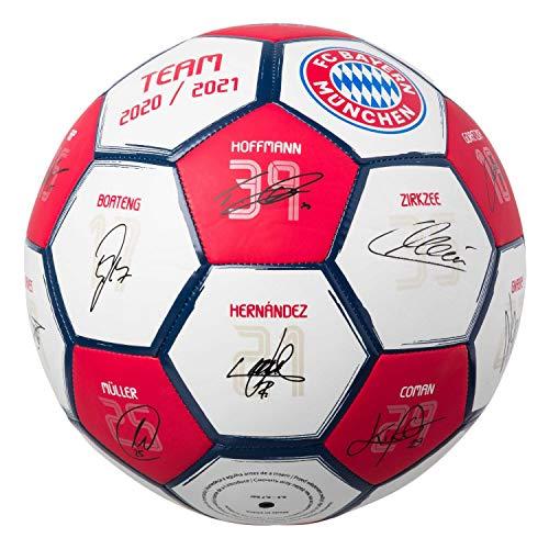 FC Bayern München Fußball Signature 2020/21 Unterschriften Ball Gr. 5 FCB