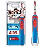 Oral-B Stages Spazzolino Elettrico per Bambini Star Wars con Personaggi, Versione Vecchia