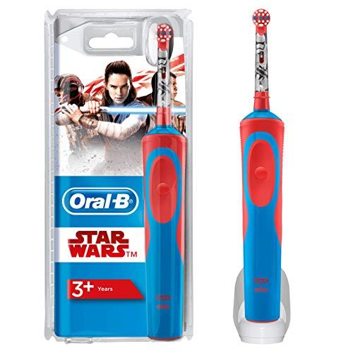 Oral-B Cepillo Eléctrico Niños de Star Wars, 1 Mango, 1 Cabezal De Recambio