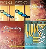 NCERT textbooks class 12th physics part 1&2 chemistry part 1&2 and biology combo