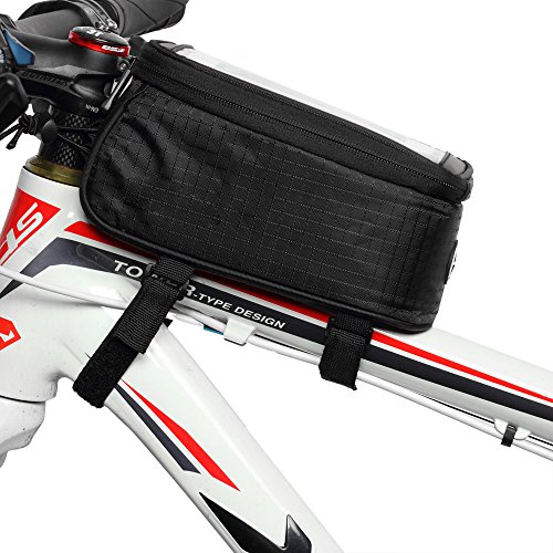 JOY COLORFUL Bicycle Bags Bicycle Front Tube Frame Cycling Packages 4.2,4.8,5.5 inches Touch Screen Mobile Phone Bags Professional Bicycle Accessories