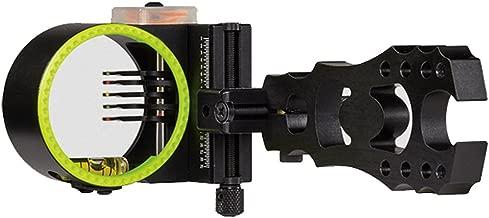Black Gold Widow Maker Archery Bow Sight Black 5 Pin
