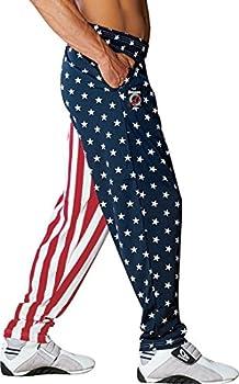 Otomix Men s American Flag USA Baggy Workout Pants X-Large
