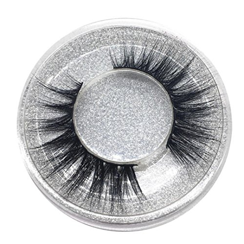 Eyelashes, False eyelashes, Yezijin 1Pair Luxury 3D False Lashes Fluffy Strip Eyelashes Long Natural Party