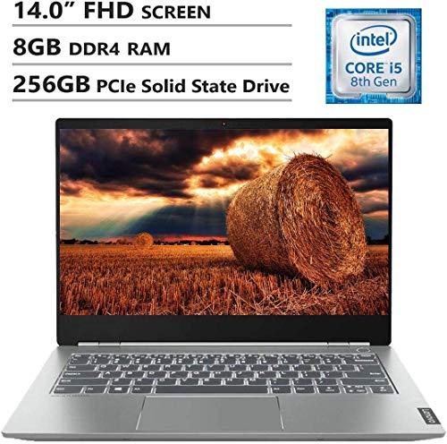 "Lenovo ThinkBook 14S 14"" FHD Screen Laptop, Intel Core i5-8265U Up to 3.9GHz, AMD Radeon 540X, 8GB DDR4 RAM, 256GB PCIe SSD, Wireless-AC, HDMI, USB Type-C, Windows 10 Home, Gray"