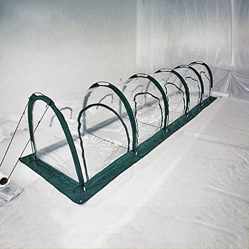 TWS Invernadero jardín Plegable Vegetal cobertizo al Aire Libre Aislamiento Cubrir la...