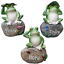 Gift Ideas for Frog Lovers include these cute statues.
