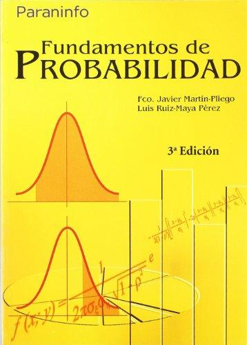 Fundamentos de Probabilidad 3ª Edición - UNED (Estadística)