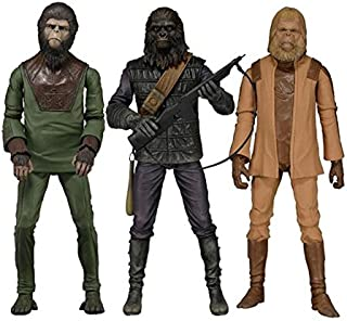 Planet of the Apes Series 1 Action Figures Set of 3