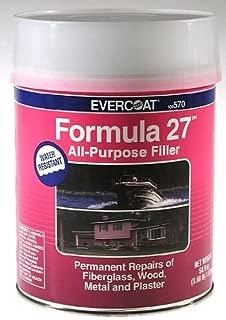 Best evercoat formula 27 filler Reviews