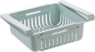 SCDZS Support de Rangement Boîte de Rangement de Cuisine, Support de Rangement réglable pour réfrigérateur de Cuisine, Org...