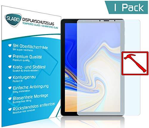 Slabo Premium Panzerglasfolie für Samsung Galaxy Tab S4 T830 | T835 Panzerfolie Schutzfolie Echtglas Displayschutzfolie Folie Tempered Glass KLAR - 9H Hartglas