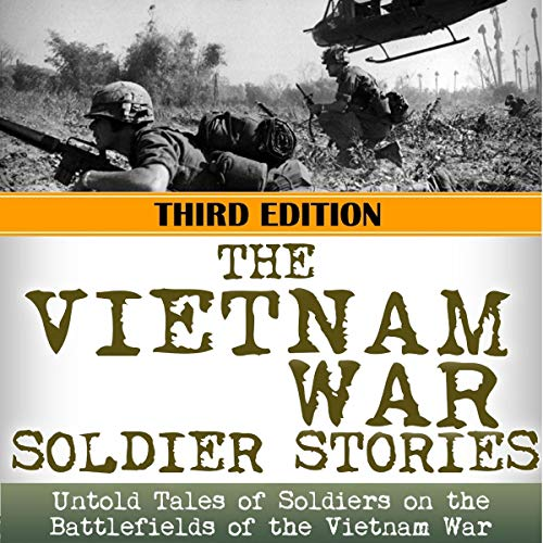 The Vietnam War Soldier Stories audiobook cover art