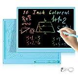 bhdlovely Tableta de Escritura LCD Tablero de Escritura 16 Pulgadas, Tablero de Dibujo electrónico...