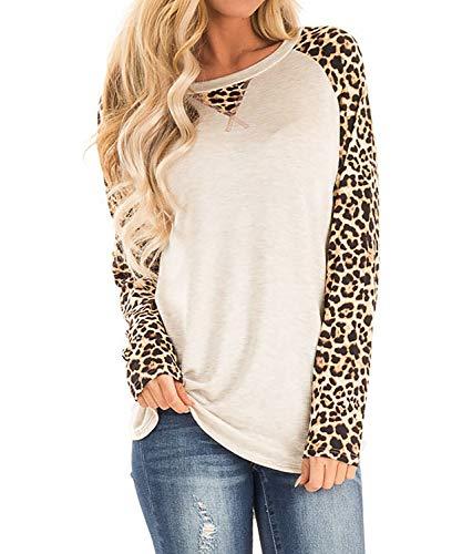 DEMO SHOW dames shirt met lange mouwen vrije tijd kleurblok mouwen pullover T shirt locker sweatshirts tuniek tops