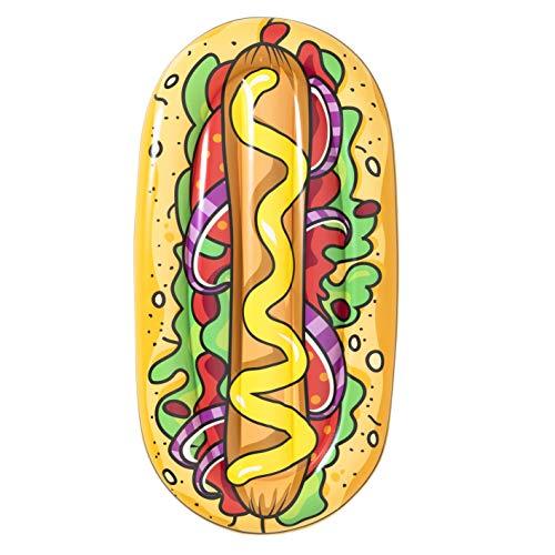 Bestway 43248 1.90m x 1.09m Hot Dog Pool Lounge, Color