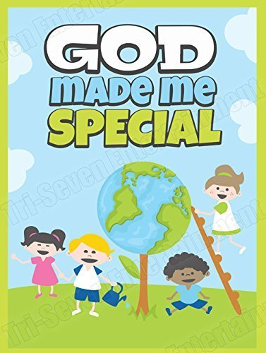 Tri-Seven Entertainment Children's Poster God Made Me Special Kids Series 2