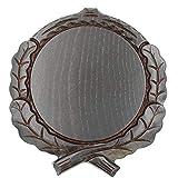 Placa de cuña tallada oscura AF 17,5 cm, tabla de cuña, tabla de cárter, letrero de trofeo.