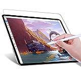 JETech Protector de pantalla Paper Feel Compatible con iPad Pro 11 Pulgadas (2020 y 2018 Modelo), Anti Reflejante, Película de Textura de Papel PET Mate para Dibujar