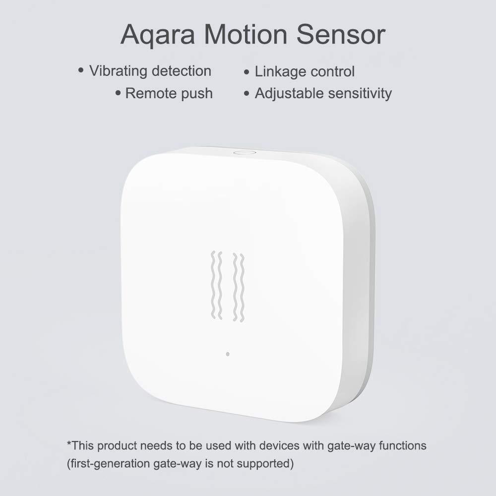 Aqara Sensor de Movimiento Inteligente, Detección Sensible de Movimiento, Detecte la Vibración del Objeto y Enviará Mensaje de Advertencia: Amazon.es: Bricolaje y herramientas