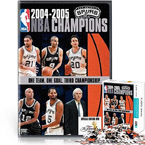 ZKSB 2005 San Antonio Spurs: Final Oficial NBA Rompecabezas películas 1000 Piezas Rompecabezas Carteles programas televisión Rompecabezas películas 1000 Piezas Gran Juego Escena Juguete 38x26cm