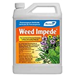 Monterey LG5134 Impede, Pre-Emergent Weed Control for Lawns and Gardens, 128 oz