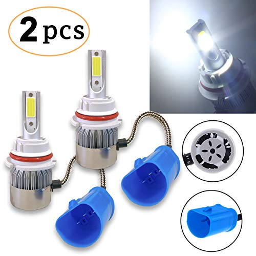 CK FORMULA 9004/HB1 LED Headlight Bulb (Low and High Beam) C6 All-in-One Conversion Kit, 72W 8500LM 6500K Cool White