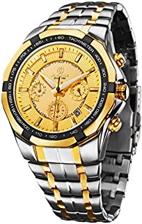 Olivera OGS706-GOLD / GOLD Watch For Men