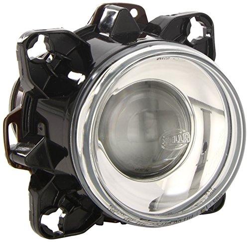 HELLA 1BL 008 193-007 DE/Halogène-Optique, projecteur principal - 90mm Essential - 12V - rond - Montage encastré - Couleur du voyant: limpide - gauche/droite - Unité d'emballage - Quantité: 36