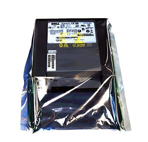 Dell gf482Original OEM PowerVault PV110T DAT72i DDS-5TBU 36/72GB Tape Backup Einheit interne 44E8895Quantum TD6100–165CD72LWH INT DAT72DDS5SCSI LVD SE 68P Tape Drive TB df675R3999