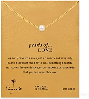 Friendship Compass Necklace Good Luck Butterfly Pendant Chain Necklace with Message Card Gift Card for Women Girl