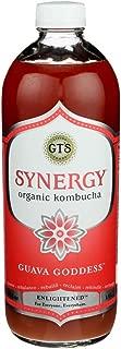 Gts, Kombucha Synergy Enlightened Guava Goddess Organic, 48 Fl Oz