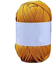 200 g marine blauwe stof haak doek garen t-shirt garen fancy garen diy mand haak zak garen ambachtelijke materiaal (Color...
