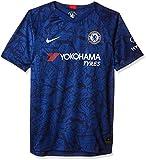 NIKE CFC Y Nk BRT Stad JSY SS Hm Football T-Shirt, Unisex niños, Rush Blue/(White) (Full Sponsor), M