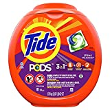 Tide PODS Liquid Laundry Detergent Pacs, Spring Meadow, 81 count