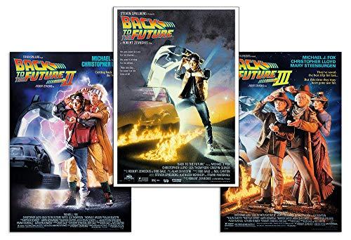 Close Up Set de 3 Posters Retour vers Le Futur - Affiches cinématographiques (68,5cm x 101,5cm)