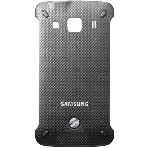 Original Samsung Akkudeckel für das Samsung S5690 Galaxy XCover - grey / grau (Akkufachdeckel, Batterieabdeckung, Rückseite, Back-Cover) - GH98-21404A