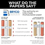 Kraft Butcher Paper roll - Long 24 inch x 175 feet (2100 inch) - Great Smoking Wrapping Paper for Meat of All Varieties… 6