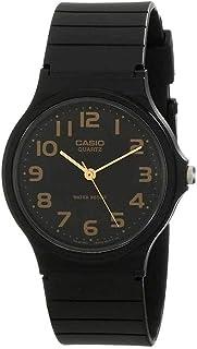 Casio Men's Black Dial Resin Analog Watch - MQ-24-1B2LDF